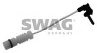 Senzor de avertizare, uzura placute de frana SWAG 10 90 1498
