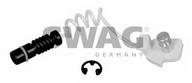 Senzor de avertizare, uzura placute de frana SWAG 10 92 2401