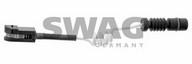 Senzor de avertizare, uzura placute de frana SWAG 10 92 8166