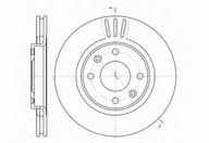Disc frana REMSA 6603.10