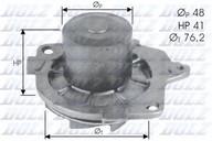 Pompa apa DOLZ S314