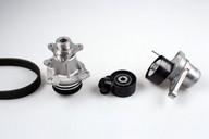 Pompa apa+set curea transmisie cu caneluri HEPU PK09071