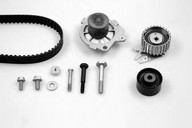 Set pompa apa+curea dintata HEPU PK10555