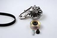 Pompa apa+set curea transmisie cu caneluri HEPU PK00540