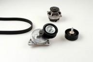 Pompa apa+set curea transmisie cu caneluri HEPU PK02360