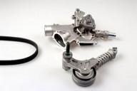 Pompa apa+set curea transmisie cu caneluri HEPU PK03220