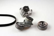 Pompa apa+set curea transmisie cu caneluri HEPU PK03410