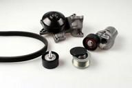 Pompa apa+set curea transmisie cu caneluri HEPU PK04211
