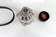 Pompa apa+set curea transmisie cu caneluri HEPU PK05422