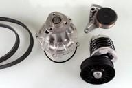 Pompa apa+set curea transmisie cu caneluri HEPU PK05423