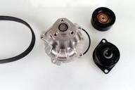 Pompa apa+set curea transmisie cu caneluri HEPU PK05424