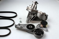 Pompa apa+set curea transmisie cu caneluri HEPU PK05192