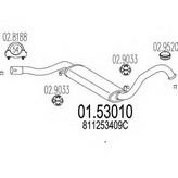 Toba esapamet intermediara MTS 01.53010