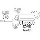 Toba esapamet intermediara MTS 01.55800