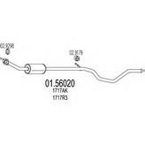Toba esapamet intermediara MTS 01.56020