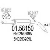 Toba esapamet intermediara MTS 01.58150
