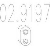 tampon cauciuc, amortizor esapament MTS 02.9197