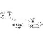 Toba esapamet intermediara MTS 01.80180
