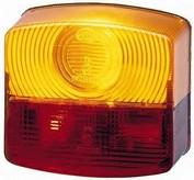 Dispersor, lampa spate HELLA 9EL 118 613-001