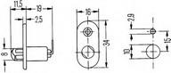 Comutator contact portiera HELLA 6ZF 004 365-011