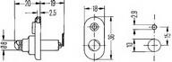 Comutator contact portiera HELLA 6ZF 004 365-031
