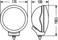 Sistem faruri de curba (AFS) HELLA 1F5 008 690-801