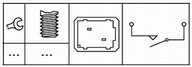 Comutator, actionare ambreiaj(comanda motor) HELLA 6DD 179 465-081