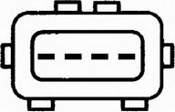 Senzor debit aer HELLA 8ET 009 142-081