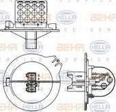 Rezistor, ventilator habitaclu HELLA 9ML 351 303-271