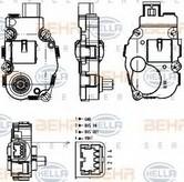 Element de reglare, clapeta carburator HELLA 6NW 351 344-041