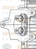 Radiator racire ulei, cutie de viteze automata HELLA 8MO 376 726-291