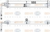 Radiator racire ulei, cutie de viteze automata HELLA 8MO 376 750-771