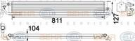 Radiator racire ulei, cutie de viteze automata HELLA 8MO 376 756-361