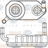 Radiator racire ulei, cutie de viteze automata HELLA 8MO 376 787-671