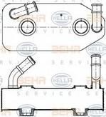 Radiator racire ulei, cutie de viteze automata HELLA 8MO 376 787-681