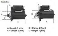 Starter LUCAS ELECTRICAL LRS01571