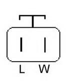 Generator/alternator LUCAS ELECTRICAL LRB00487