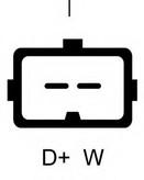 Generator/alternator LUCAS ELECTRICAL LRB00145