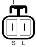 Generator/alternator LUCAS ELECTRICAL LRB00152
