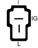 Generator/alternator LUCAS ELECTRICAL LRA00401