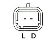 Generator/alternator LUCAS ELECTRICAL LRB00400