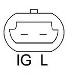 Generator/alternator LUCAS ELECTRICAL LRB00431