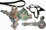 Pompa apa+set curea transmisie cu caneluri INA 529 0010 30