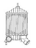 Intercooler, compresor NRF 30141