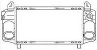 Intercooler, compresor NRF 30248