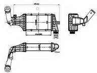 Intercooler, compresor NRF 30428