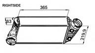 Intercooler, compresor NRF 30441