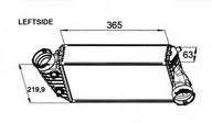 Intercooler, compresor NRF 30442