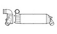 Intercooler, compresor NRF 30853