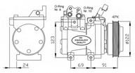 Compresor, climatizare NRF 32205